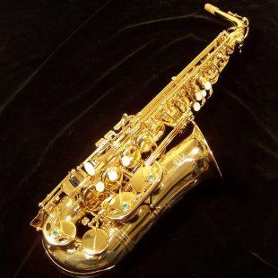 Kessler Custom Standard Series Intermediate Alto Sax - Gold Lacquer