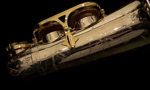 Solid Silver Series III Alto Sax - Selmer Paris Jubilee
