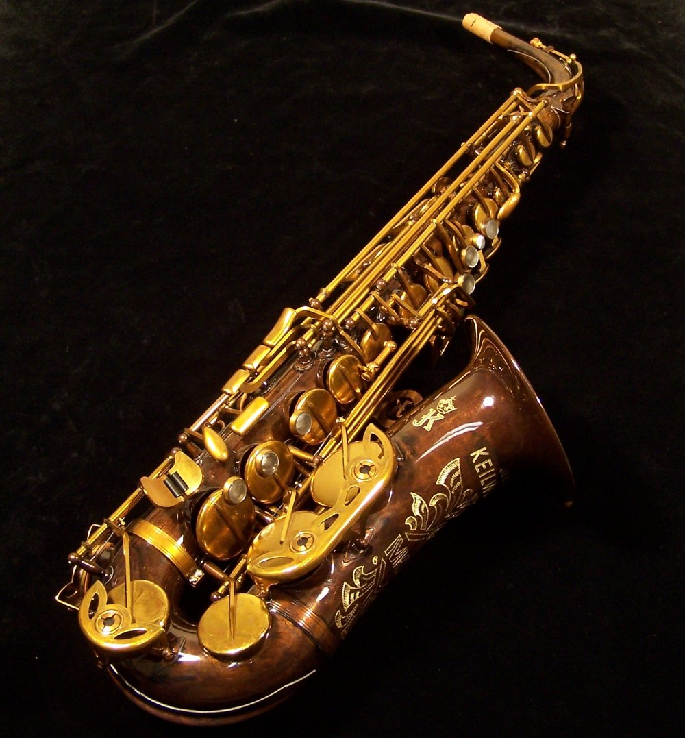 Keilwerth MKX Alto Sax - Antique Finish