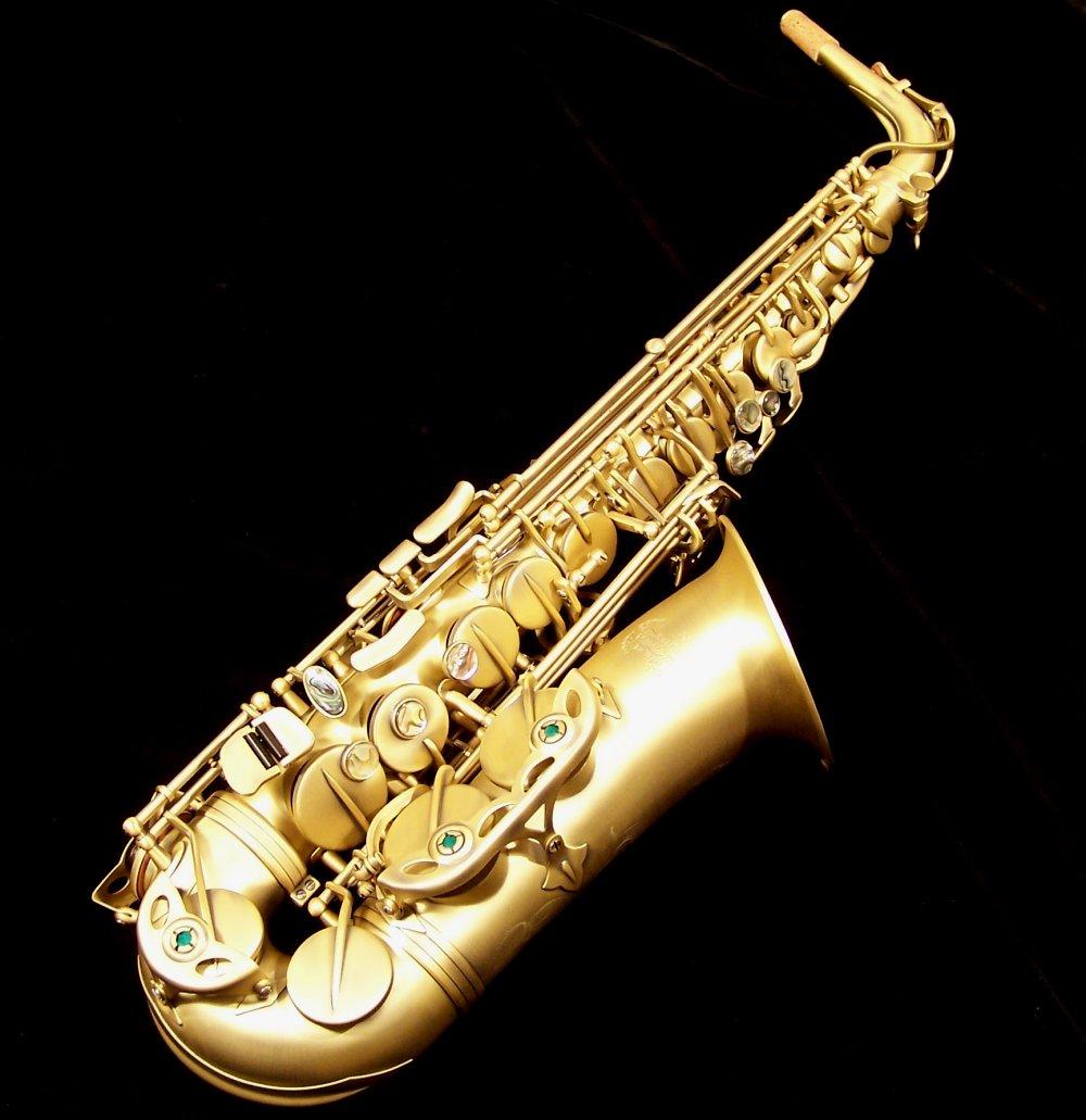 Kessler Custom Standard Series Alto Sax - Vintage Matte