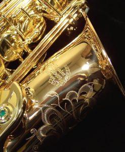 Kessler Custom Handmade Series Alto Sax - Gold Lacquer