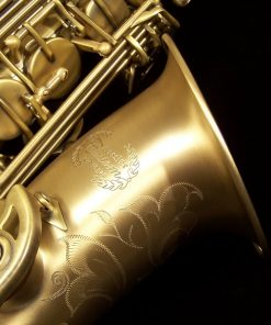 Kessler Custom Handmade Alto Sax - Brushed Matte Antique