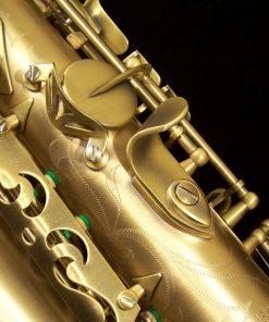 Kessler Custom Handmade Alto Sax - Brushed Matte Antique