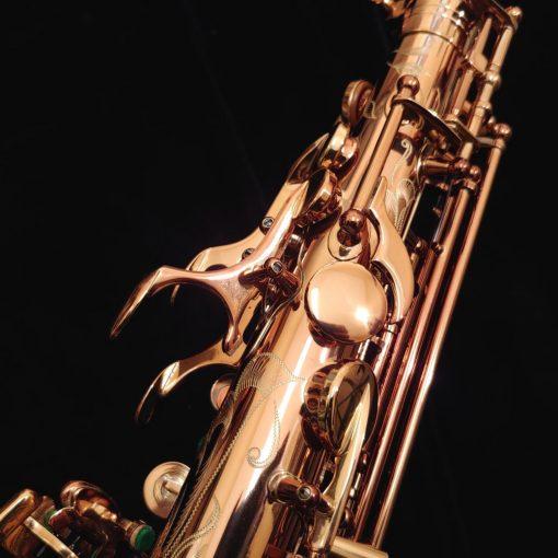 Kessler Custom Handmade Alto Sax - Vintage Dark Lacquer