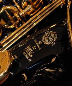 52JBL Selmer Paris Series II Black Lacquered Alto Sax