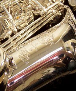 52JS Selmer Paris Series II Alto Sax - Bright Silver Plate