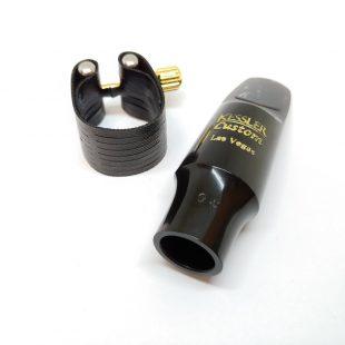 Kessler Custom Modern Classical Alto Sax Mouthpiece - with Rovner Dark Lig