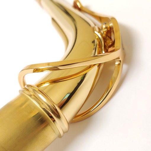 Series III Alto Sax Neck - Jubilee, Gold Lacquer