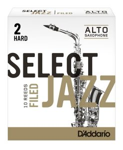 Jazz Select Alto Sax Reeds - Filed