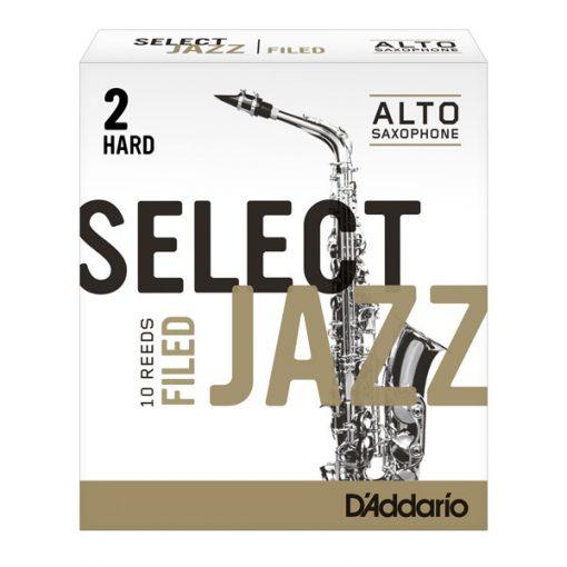 Jazz Select Alto Sax Reeds - Filed