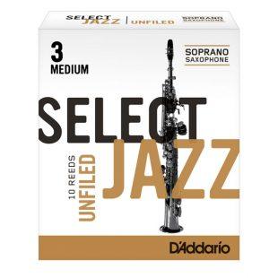 Select Jazz Soprano Sax Reeds