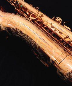 Kessler Custom Handmade Tenor Sax - Dark Lacquer