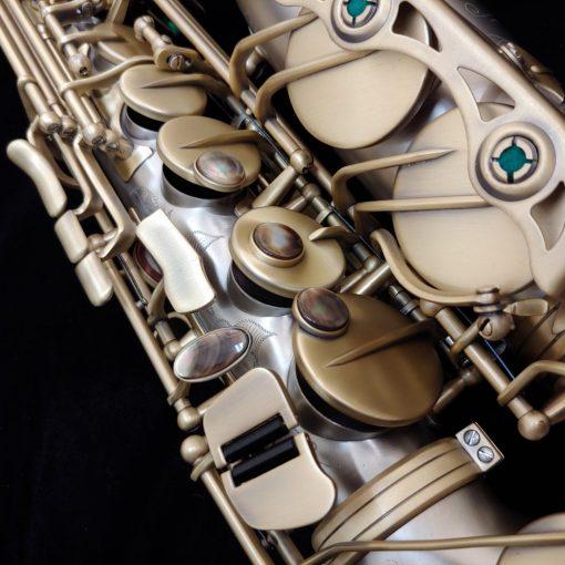 Kessler Custom Handmade Nickel Silver Alto Sax