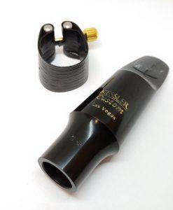 Kessler Custom Modern Classical Tenor Sax Mouthpiece - with Rovner Dark Ligature
