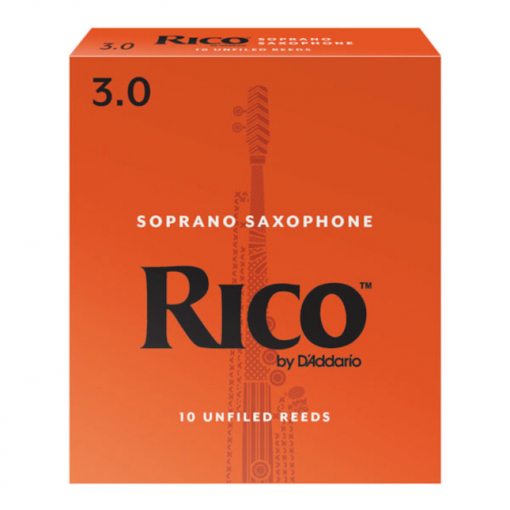 Rico Soprano Sax Reeds - Orange Box Student Reeds