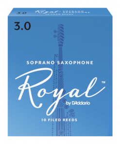 Royal Soprano Sax Reeds by D'Addario - Formerly Rico Royal