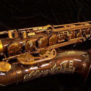 Julius Keilwerth MKX Tenor Sax - Antique Finish