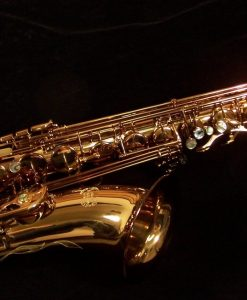 Kessler Custom Standard Series Intermediate Tenor Sax - Dark Lacquer