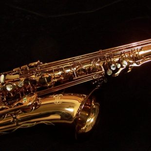Kessler Custom Standard Series Intermediate Tenor Sax - Dark Lacquer