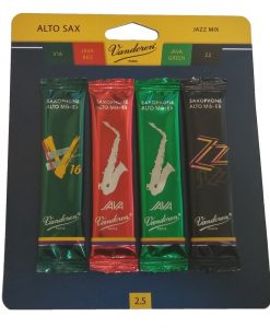 Vandoren Alto Sax Jazz Reed Sampler Kit