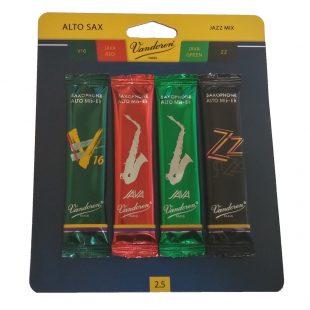 Vandoren Alto Sax Jazz Reed Sampler Kit