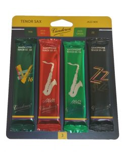 Vandoren Tenor Sax Jazz Reed Sampler Kit