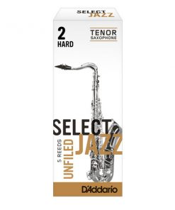 D'Addario Select Jazz Tenor Sax Reeds - Unfiled