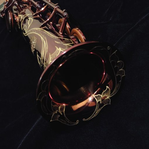 "Kessler Custom ""Handmade One"" Professional Soprano Sax - Dark Lacquer"
