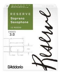 D'Addario Reserve Soprano Sax Reeds