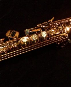 Kessler Custom Performance Series Soprano Sax - Dark Lacquer