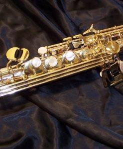 Yanagisawa S9030 Solid Silver Soprano Sax