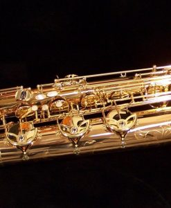 Yanagsiawa B992 Bronze Bari Sax - B992P with Floor Peg
