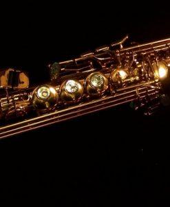 Kessler Custom Handmade Soprano Sax - Dark Lacquer