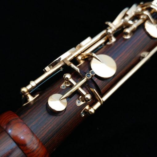 Backun MoBa Clarinet - Cocobolo with Gold Keys