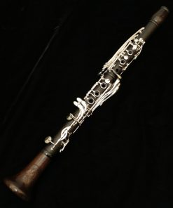 Backun MoBa Clarinet - Grenadilla with Silver Keys