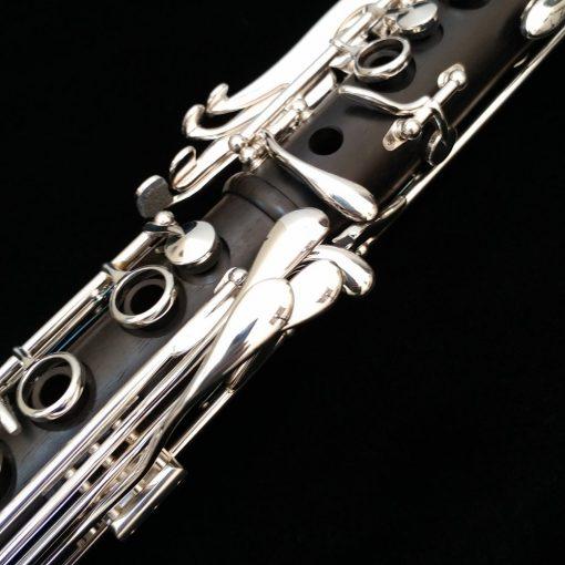 Backun MoBa Clarinet - Grenadilla with Silver Keys