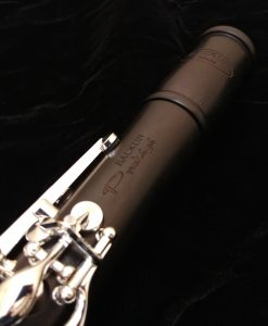 Backun Protege Clarinet - Grenadilla, Silver with Left Eb Lever