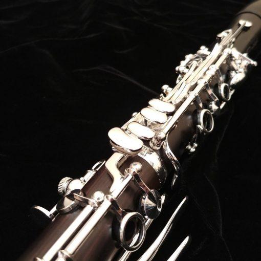 Backun Protege Clarinet - Grenadilla, Silver with Left Eb Lever