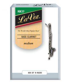 LaVoz Bass Clarinet Reeds