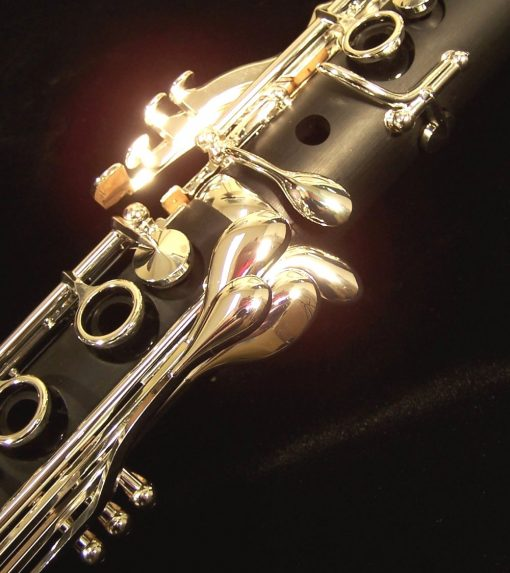 Backun Alpha Clarinet - Silver Keys - with opt. Eb Lever