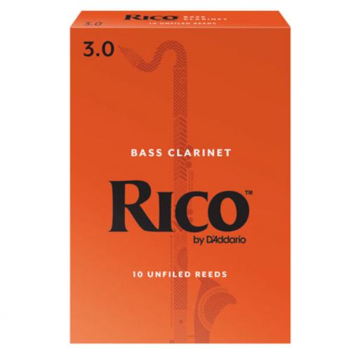 Rico Bass Clarinet Reeds - Orange Box Student Reeds