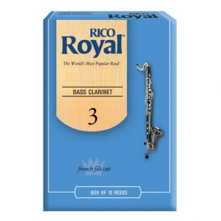 Rico Royal Bass Clarinet Reeds