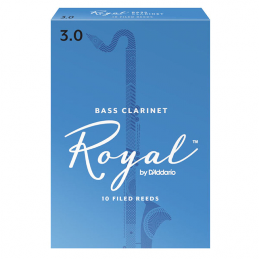 Royal Bass Clarinet Reeds by D'Addario - Formerly Rico Royal