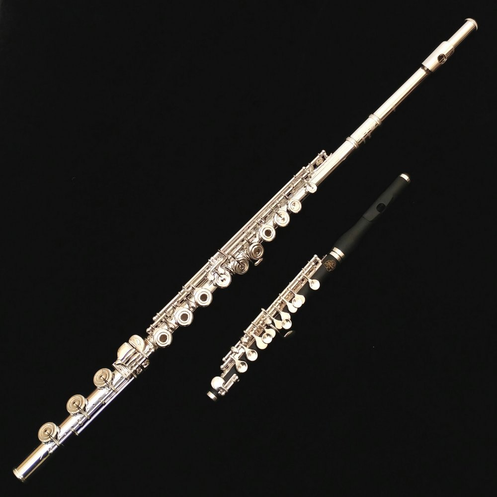 Azumi AZ3 Solid Silver Flute by Altus Special FREE Piccolo