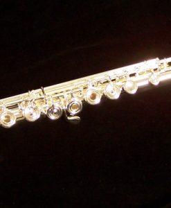 Azumi AZ3 Solid Silver Flute -shown with Split E & C# Trill
