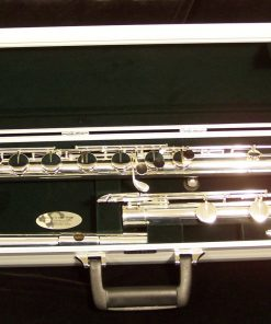 Pearl Bass Flute - Shown with optional B foot & Split E