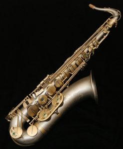 Kessler Custom Handmade NS Solid Nickel Silver Tenor Sax