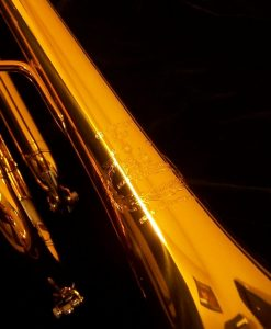 B&S Challenger Trumpet - 3137 Dark Gold Lacquer Shown