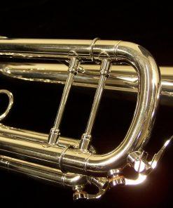 K.Custom Artist Series Professional Silver Trumpet