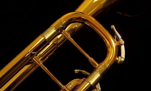 B&S Challenger Trumpet - 3137 Dark Gold Lacquer Shown